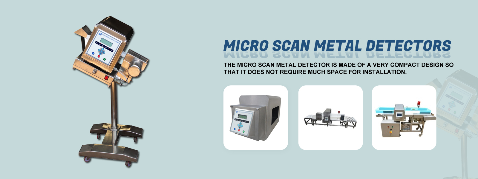 Micro Scan Metal Detectors Manufactures in GOA